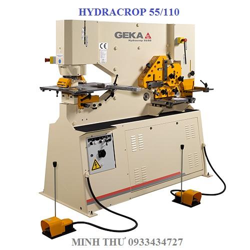 MÁY CẮT ĐỘT THỦY LỰC HYDRACROP 55SD/110